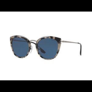 NWT Prada mirrored cat eye sunglasses